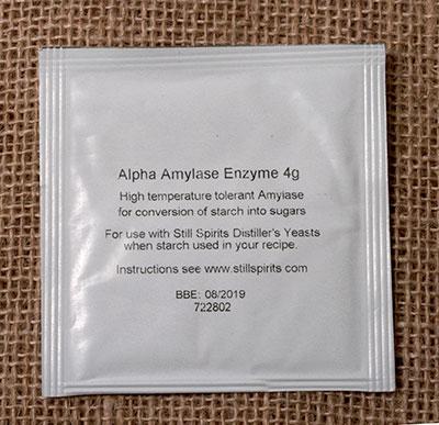 Alpha Amylase Enzyme 4 grams