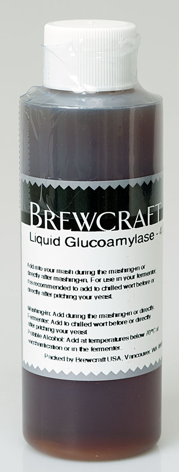 Liquid Glucoamylase 4 oz.