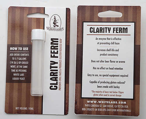 Clarity-Ferm Chill Haze Preventative