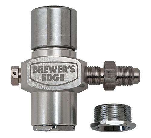 Male Flare Brewer's Edge®  Micro Regulator