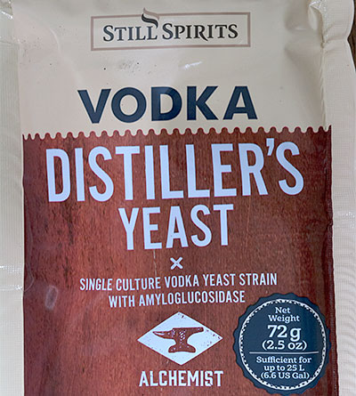 Still Spirits Vodka Yeast