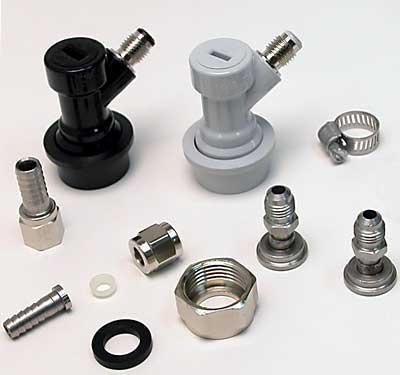 Ball Lock Kegerator Homebrew Conversion Kit