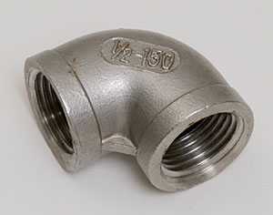 "Stainless ½"" NPT Elbow"