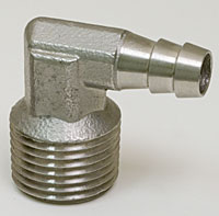 """Stainless ½ """" Male NPT To 3/8"""" Hose Barb"""