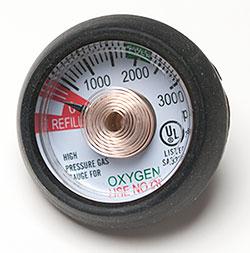 Replacement Gauge For Oxygen Regulator