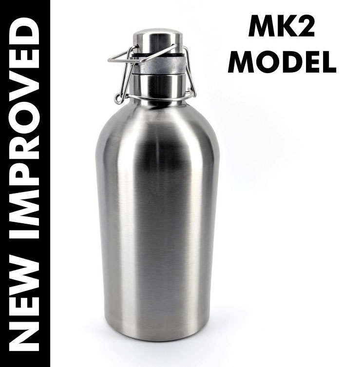64 Ounce Ultimate Stainless Growler