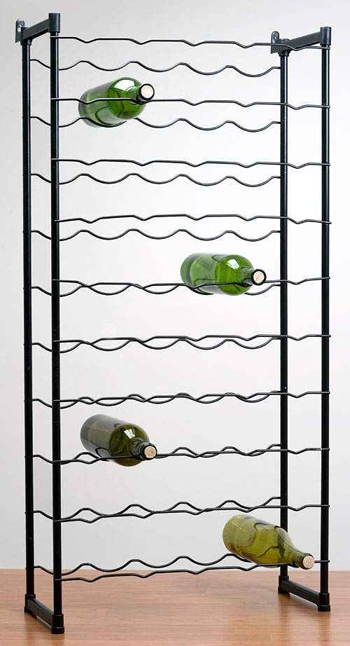 50 Bottle Elegance Wire Wine Rack