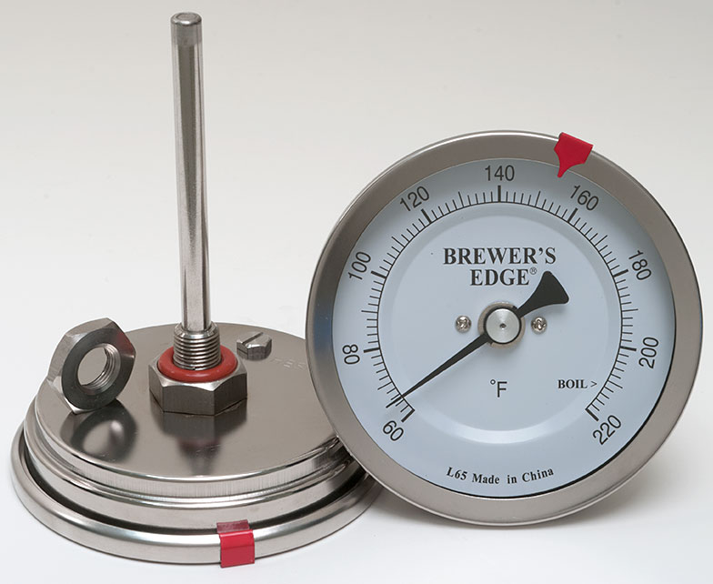Weldless Brewer's Edge® Pot Thermometer