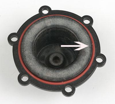 Mark II Wort Pump Head O Ring