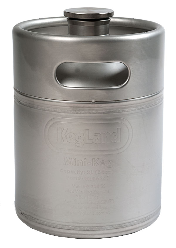 2 Liter KegLand Mini Keg
