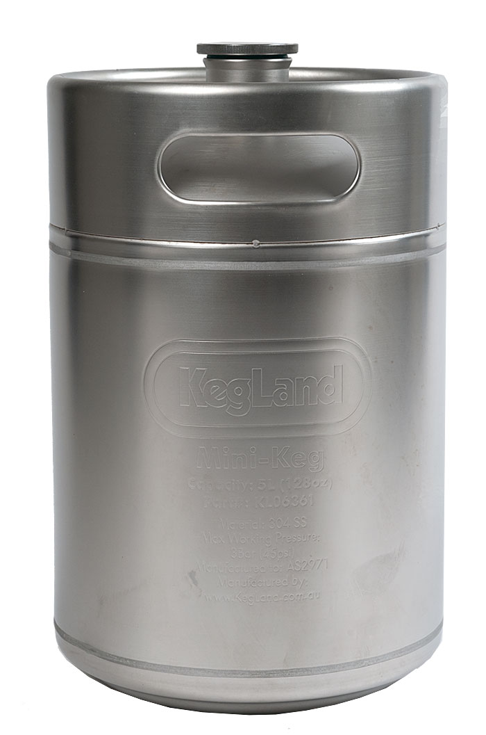 5 Liter KegLand Mini Keg