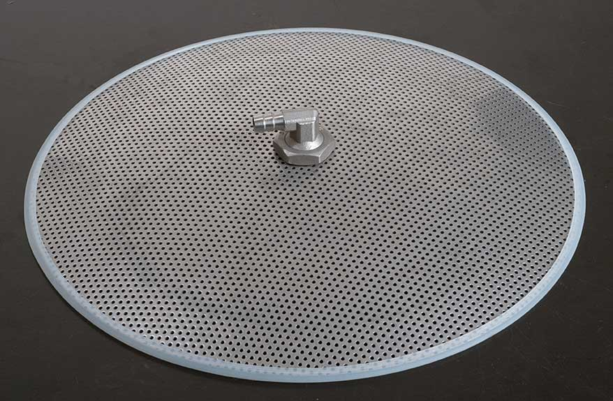 "12"" Stainless 10 Gallon Cooler False Bottom"
