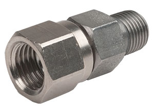 "Male 1/8"" NPT To Female Flare Fitting"