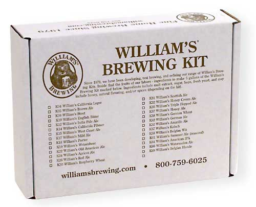 Belgian Wit Home Brewing Beer Kit