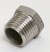 "Stainless ½"" Kettle Plug"