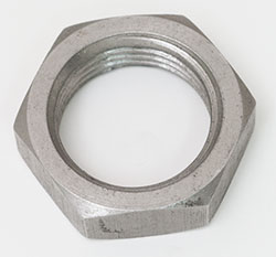 """Stainless ½ """" NPT Backnut Without O Ring Recess"""