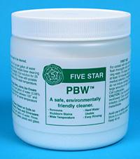 1 Lb. Five Star PBW Cleaner