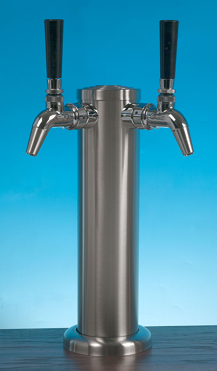 Intertap Double Complete Stainless Tower