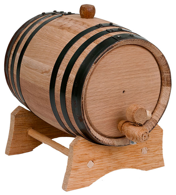 2 Liter American Oak Barrel