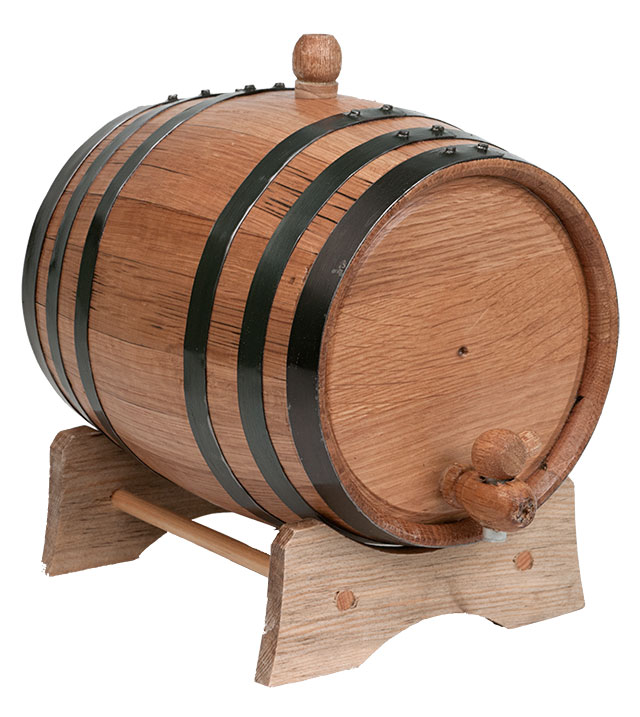3 Liter American Oak Barrel