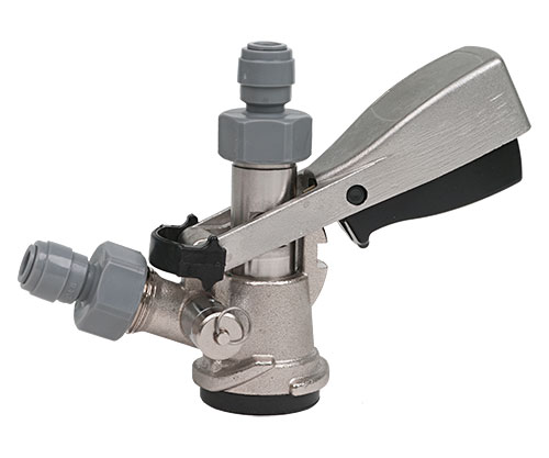 KegLand Type D Duotight Stainless Sankey With Relief Valve