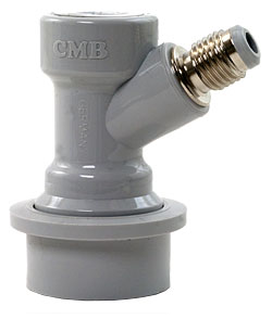 CMB Gas Ball Lock Fitting Threaded