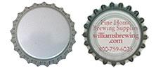320 Silver Bottle Caps