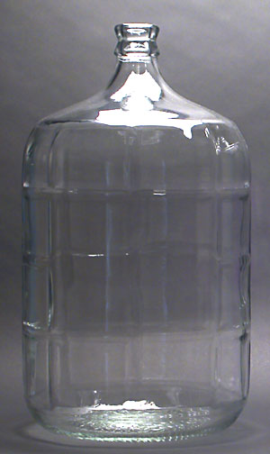 5 Gallon Glass Carboy (Actual Cost Shipping Item)