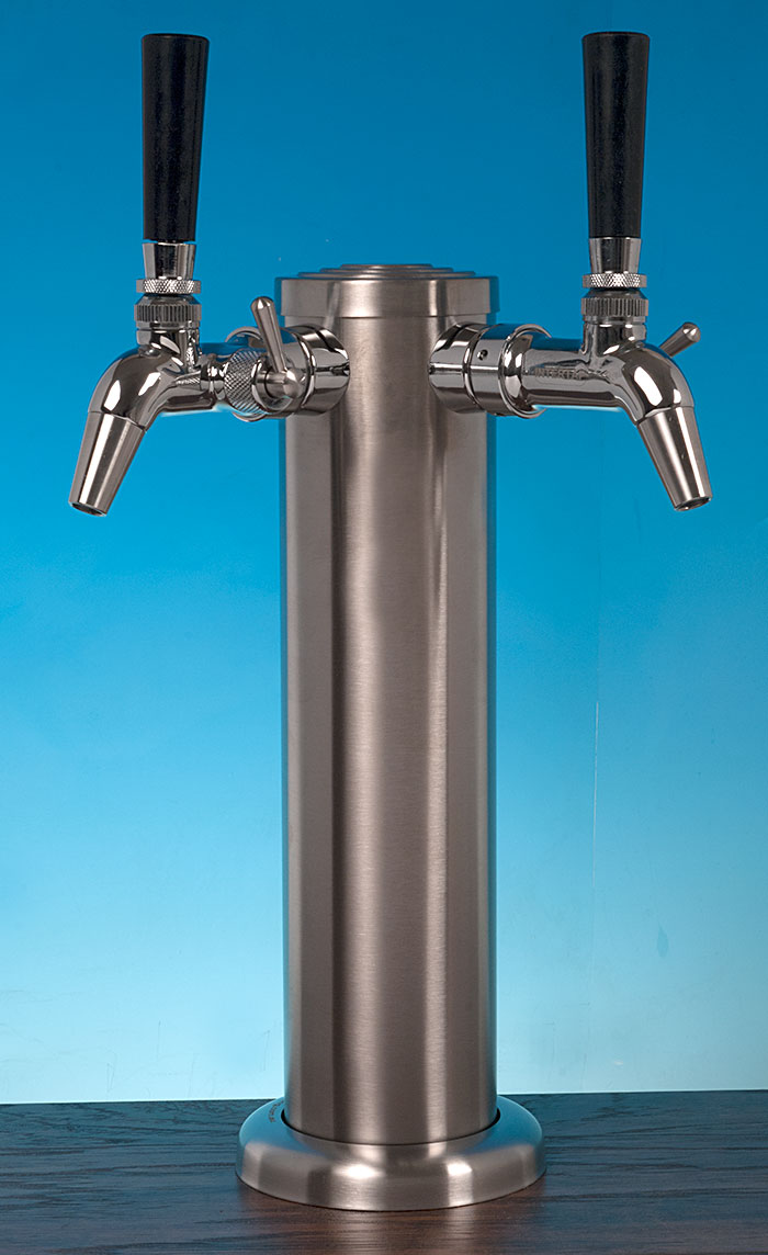 Intertap Double Flow Control Complete Stainless Tower