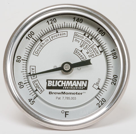 Brewmometer Fahrenheit Mashing Thermometer