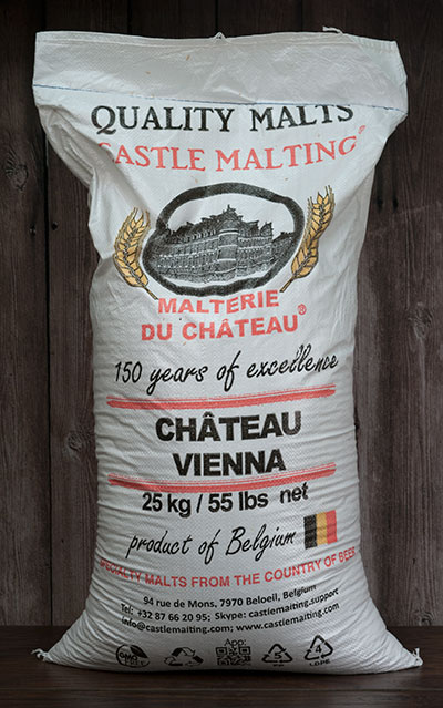55 lbs. Castle Vienna Malt (Actual Shipping Item)