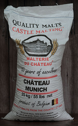 55 Lbs.Castle  Munich Malt (Actual Cost Shipping Cost Item)