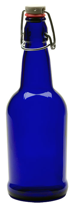 500ml Blue Swing Top Bottles -Case Of 12 (Actual Shipping Item)