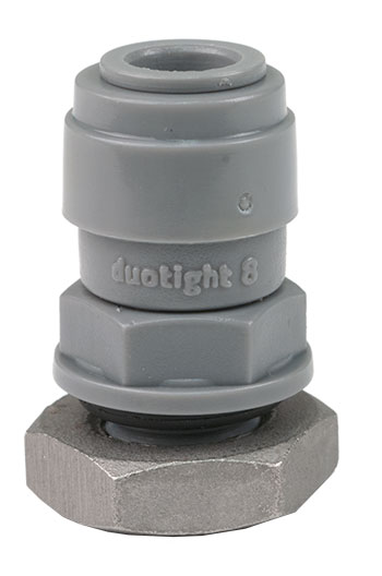 DuoTight 8mm Bulkhead
