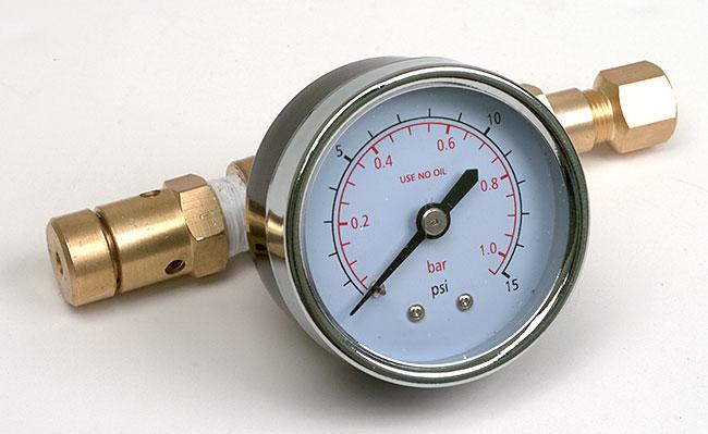 0-15 Adjustable Pressure Relief Valve
