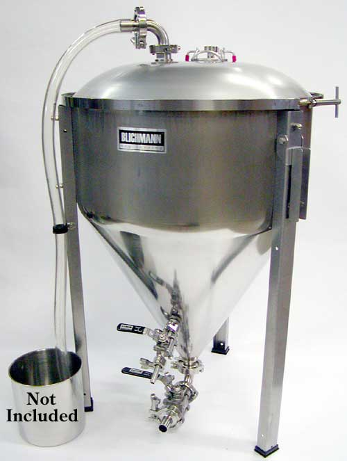 27 Gallon Fermenator With Tri-Clamp Valves (Actual Cost Shipping Item)