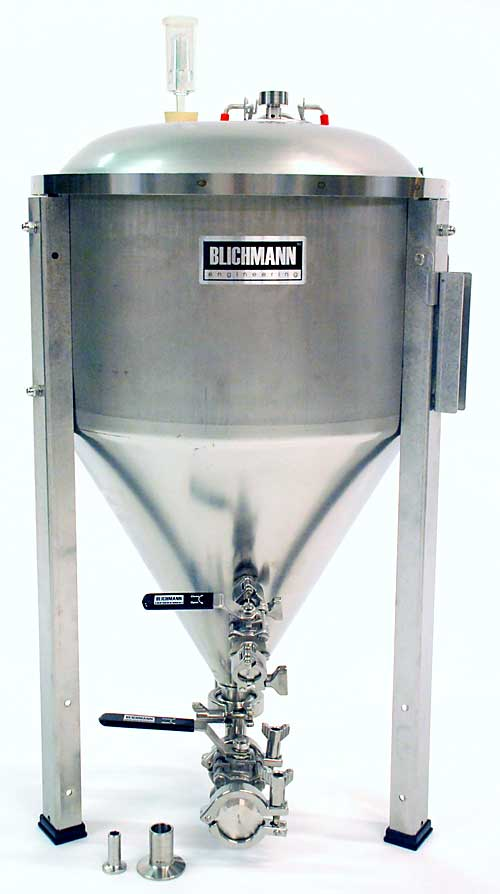 14.5 Gallon Fermenator With Tri-Clamp Valves (Actual Cost Shipping Item)