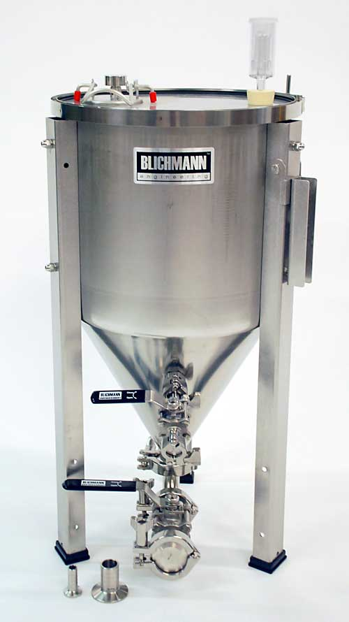7 Gallon Fermenator With Tri-Clamp Valves (Actual Cost Shipping Item)