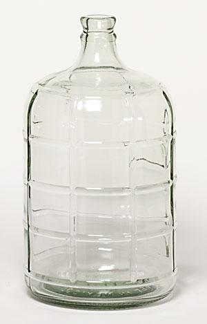3 Gallon Glass Carboy (Actual Ground Shipping)