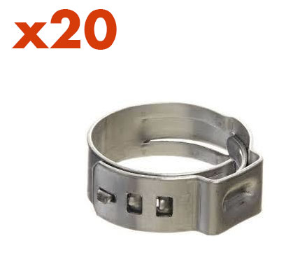10.5mm to 12mm Stepless Clamps (20)