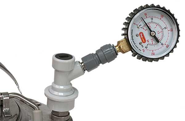 Keg Pressure Tester