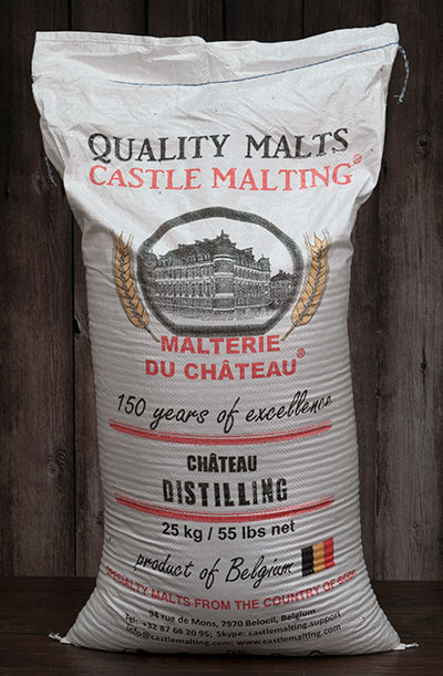 55 lbs. Castle Distilling Malt (Actual Shipping Item)