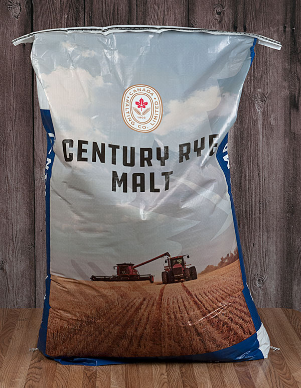 50 Lbs. Great Western Rye Malt (Actual Shipping Item)