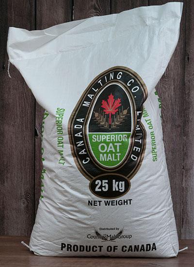 55 lbs Canadian Oat Malt