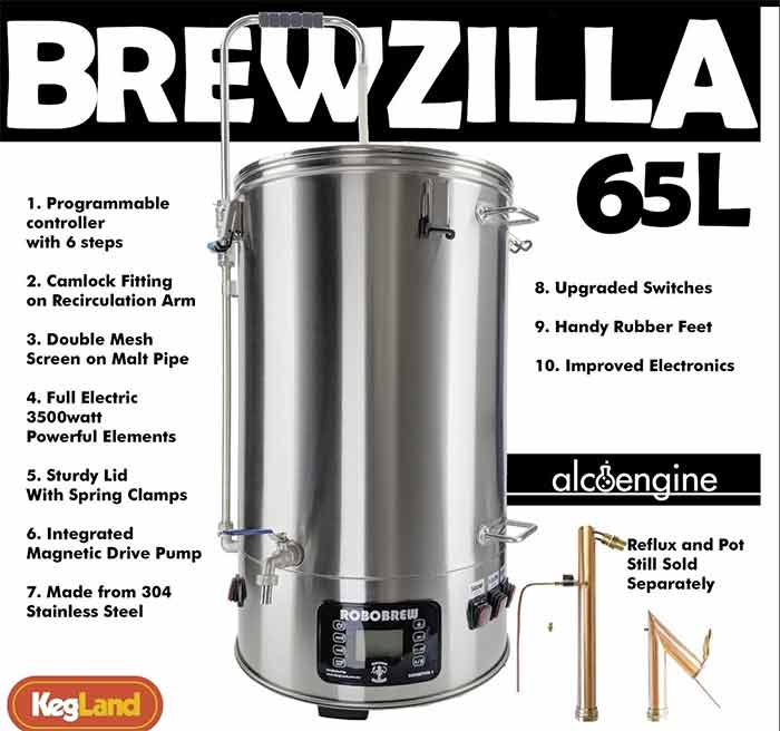 Brewzilla 65 Liter