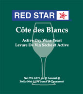 Red Star Cotes De Blancs Yeast