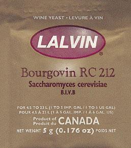 Lalvin RC-212 Wine Yeast