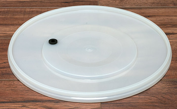 Brewcraft Fermenter Lid With Airlock Grommet