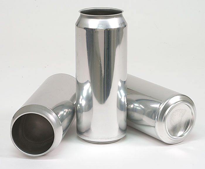 500 ml Aluminum Cans & Lids (case of 207, limited to Cannular Customers Only)