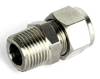 """12.7mm Compression Fitting to 1/2"""" BSP Male"""